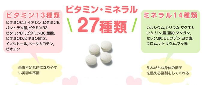 ベルタ葉酸ビタミンミネラル