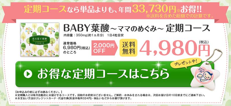 BABY葉酸価格